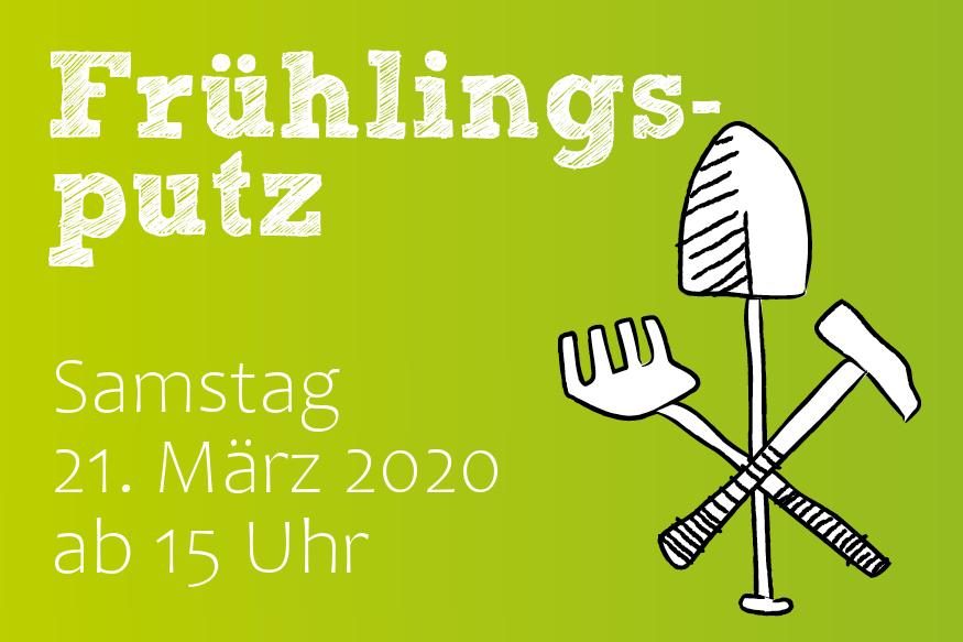 ABGESAGT: Frühjahrsputz im Garten – Putz deine Stadt raus 2020