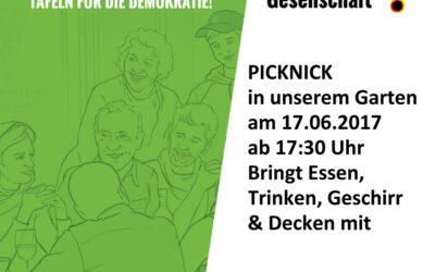"Einladung: Picknick am ""Tag der offenen Gesellschaft"" am 17. Juni"